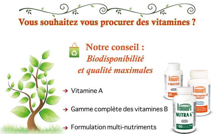 supplément nutritionnel vitamines